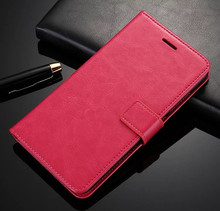 High quality Most Popular Crazy Horse Pattern Case For Huawei Mate8 mate 8 Stand Wallet Leather Phone Cover Case Capa(China)