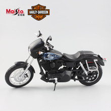 1:12 scale kids mini Sons of Anarchy Harley 2003 DYNA SUPER GLIDE SPORT Motor auto diecast motorcycle race car toys for boy 2017
