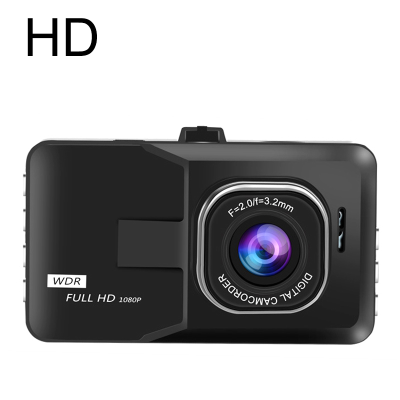 2017 New Car DVR Camera Full hd 1080P 3-Inch Video Recorder 140 degree wide angle dashcam auto registrar DVRs Black box()