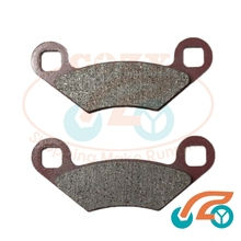 2 pieces Set of Front Brake Pads For Buyang/JCL 300cc garden JCL 300cc(China)