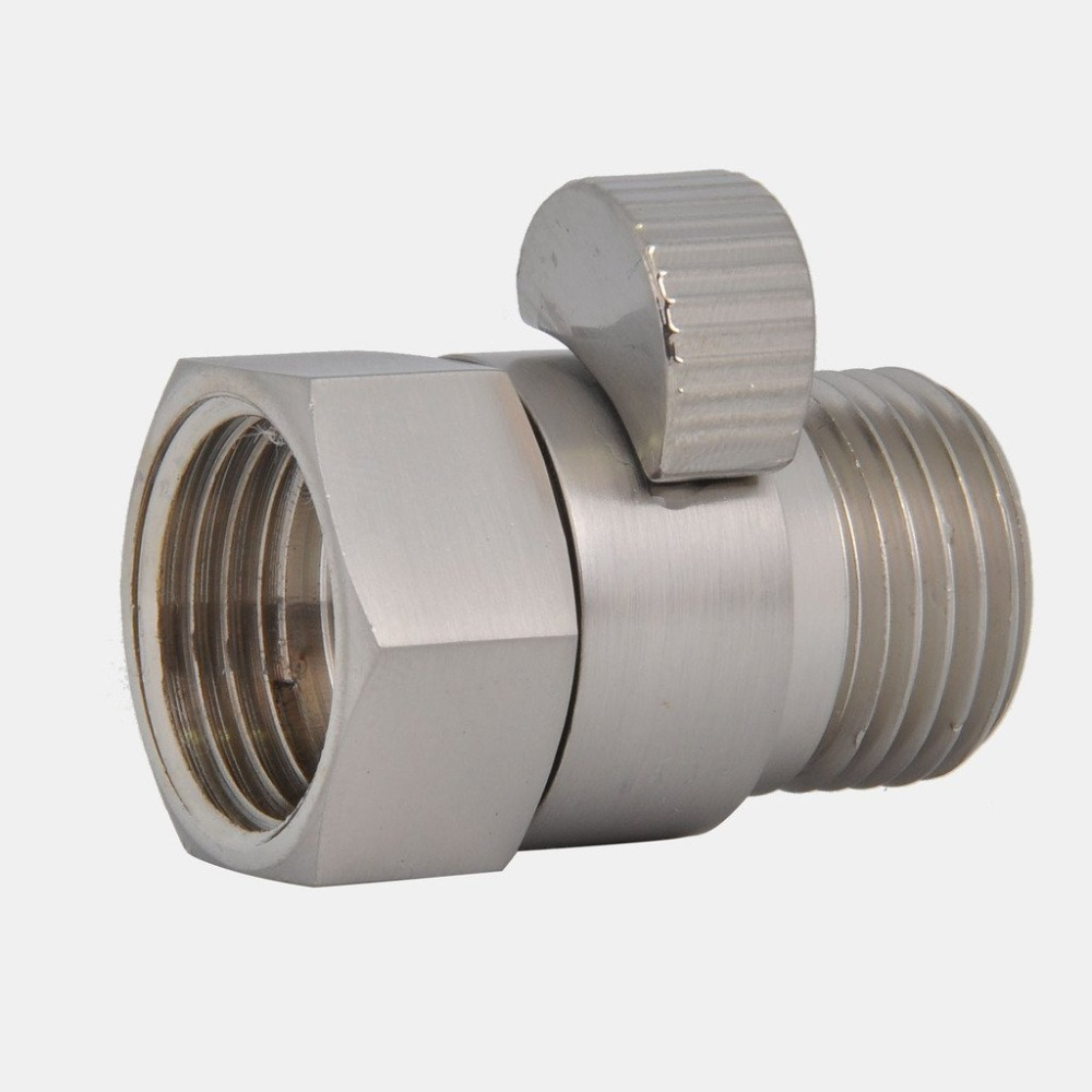 Wholesale Shower Pressue Quick Valve Brass Water Control Valve Shut Off Switch for Bidet Spray or Top Rain Shower Hand Head