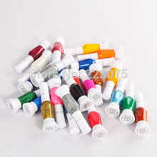 New 38Pcs Varnish Solid 2 way DIY Beauty Nail Art Polish Drawing Painting Brush pens