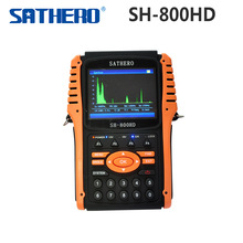 1pc Original Sathero SH-800HD DVB-S2 Digital Satellite Finder Meter USB2.0 HDMI Output Satfinder HD with Spectrum Analyzer