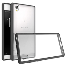 Buy Sony Xperia L1 Case Silicone Bumper Shockproof Case Sony Xperia L1 G3311 G3312 Full Protection Clear Hard Back Cover for $3.79 in AliExpress store