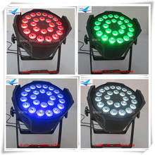 (50/lot)Disco party led lights 24x15w rgbwy 5in1 led par64 light led dmx wash par light