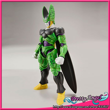 Original Bandai Tamashii Nations Figure-rise Standard Assembly Dragon Ball Toy Figure - Cell (Complete Form) Plastic Model