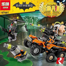 Lepin 07081 396pcs Creative Series ben's Highly toxic truck attack Children Educational Building Blocks Bricks Toys