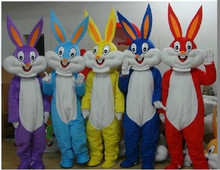 NEW Bugs Bunny Rabbit Mascot Costume Adult Character Costume Cosplay mascot costume free shipping