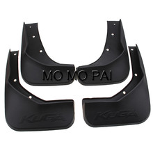 Car fender FIT FOR 2013-2015 FORD ESCAPE KUGA MUD FLAP FLAPS SPLASH GUARDS MUDGUARDS 4pcs / Set MO MO PAI high quality(China)
