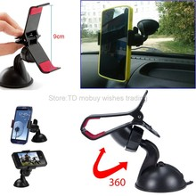 Automobile Car Windshield Dashboard Suction Cup Stand Holder Mount Windscreen Clamp Clip for Mobile Cell Phone/Smartphone/Auto