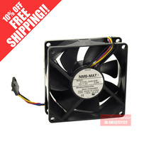 NMB 8cm8025 12V 0.3A FOR Dell server fan 3110KL-04W-B56 four-wire