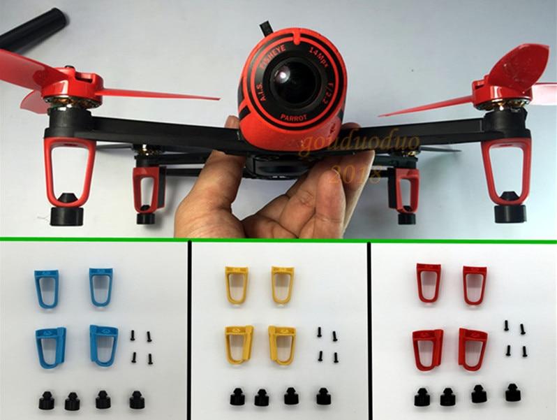 Parrot Bebop drone 3.0 Part Landing Skids + Landing Mats Feet Anti-vibration<br><br>Aliexpress