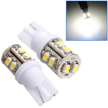 Auto LED T10 1210 10 SMD Cold white/Blue/Red/Yellow/Green/Pink W5W 12V 194 168 3528 Car side wedge/tail/Outline lamp bulb.