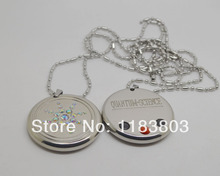 2PCS/LOT free shipping Quantum Scalar Energy Pendant Necklace MAN JEWELRY SCALAR PENDANT QUANTUM PENDANT