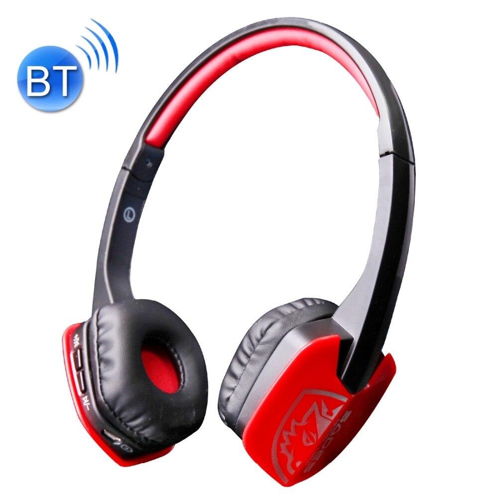 Original SADES D201 Gaming Wireless Bluetooth Stereo Headphones Headset Earphone Mic For PC Computer Laptop Gaming Headphones<br><br>Aliexpress