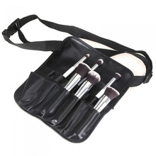 Hot Sale Makeup Brush Apron with Artist Belt Strap PVC Make Up Brush Bag Holder Cosmetic Bags & Cases