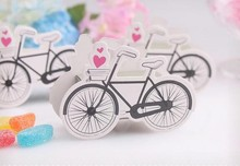 Factory price 2000pcs/lot Bicycle Candy Box Cartoon DIY Gift Creative Manual Boxes Paper Party Wedding Children Birthday(China)