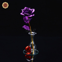 WR New Arrivals Valentines Day Activities Colored Rose Hot Sale Birthday Gift Unique Rose Flower Store Home Decoration