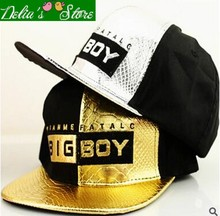 2015 New Hot Cool  Fur Patchwork Letter Big Boy Snapback Caps Unisex Baseball Caps   Hip-hop Hats