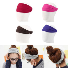 Lovely Wash Face Makeup Cosmetic SPA Womens Loose Hair Band Elastic Soft Comfortable Lady Headband Hair Accessory