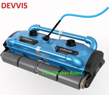 Newest Commercial Use Robot Swimming Vacuum Cleaner Pool Cleaner For Big Pool( Cleaning capacity for 1000M2) with Caddy Cart(China)