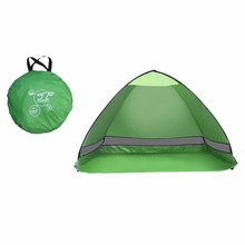 Outdoor Camping Tent hiking beach Summer Tent UV Protection Fully Automatic Sun Shade Portable Pop Up Beach Tent(China)