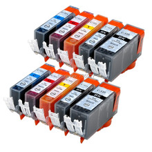 10X Generic ink cartridge PGI-520 CLI-521 PGI520 CLI521 for Canon MP540 MP545 MP550 MP638 MP630 printer in EU market(China)