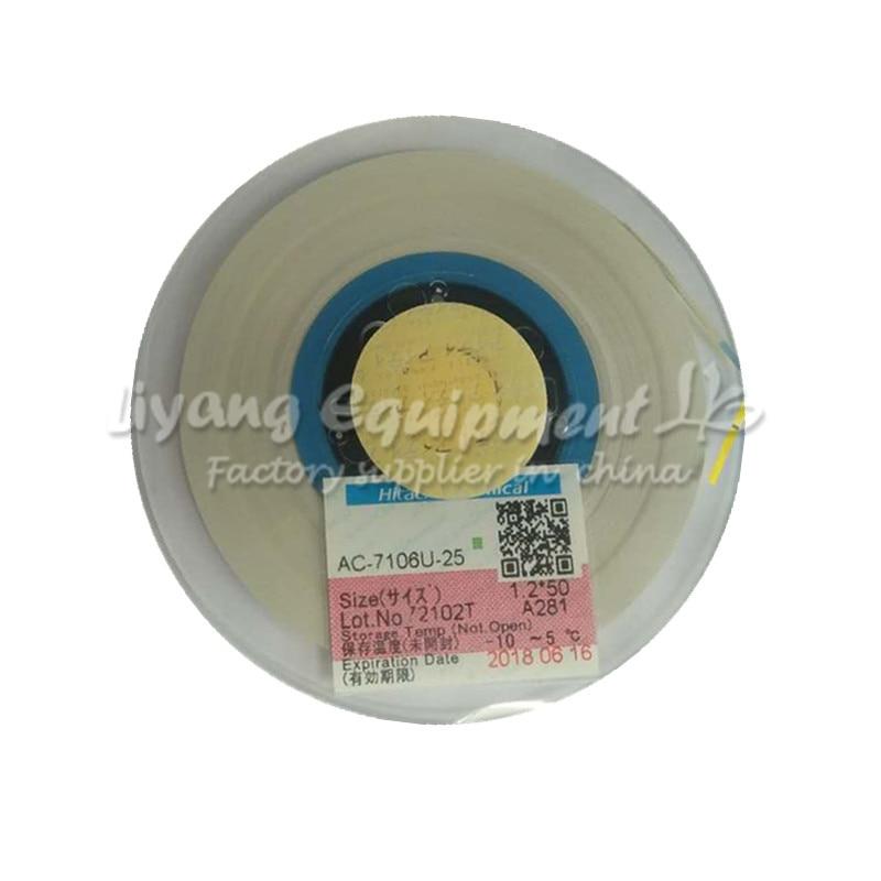 Original ACF AC-7106U-25 1.2MM*50M TAPE for mobile phone lcd repair tools<br>