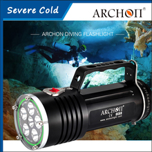 ARCHON DG60 Canister Diving Light CREE XM-L2 U2 LED*6 5000lm 200 Meters Underwater Rechargeable Dive Torch With Battery+Charger(China)