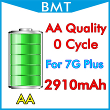 original BMT DHL UPS 50pcs/lot AA Quality 2900mAh 3.82V Battery for iPhone 7 7G Plus replacement 0 zero cycle BMTI7P0BTAA(China)
