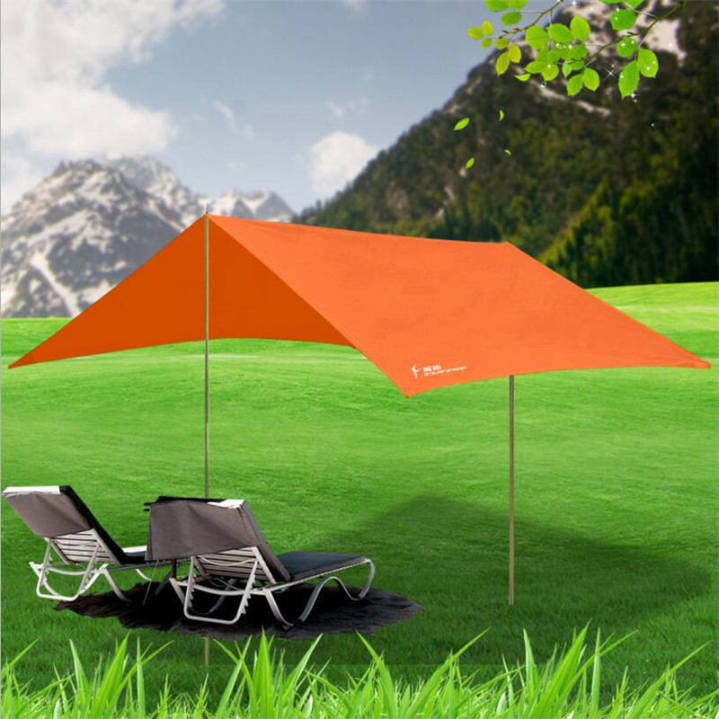 Outdoor Large Beach Tent Awning Gazebo UV Sun Shelter Canopy Hiking Picnic Sunshade Party 3*3m Barraca Tente<br>