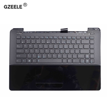 GZEELE new laptop keyboard with C shell for ASUS UX30 UX30S UX30K35A Topcase Housing Palmrest With C CASE BLACK English US Topc(China)