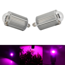 Hydroponics 120W LED Grow Light COB Grow LED Light E27 Plant Grow Lamp for Greenhouse Ved and Flowering(China)