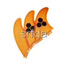 2015 High quality FCS II G5  SURF fins with fiberglass honey comb material for surfing (Tri-set)G5 FCS2-005