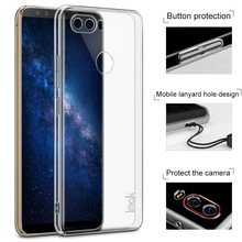 IMAK Crystal Case II Pro for ZTE nubia Z17S Scratch-resistant Clear PC Cell Phone Case(China)