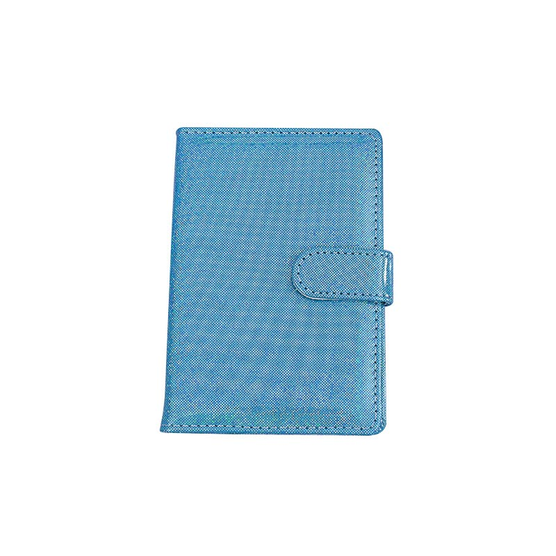 Shiny PU Leather Passport Case ID Credit Card Holder Wallet Travel Passport Holder Passport Protector Cover Card Pouch Tarjetero