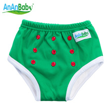 2016 New Waterproof Washable Baby Training Pants Trainers Bamboo Potty Baby Pants 1pcs PUL Fabric Fit 1-3 Years Baby(China)