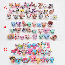 New Arrival 24 pcs/set 15pcs/set toys Cute Animals Q Pet Shop Action Figure Collection Models toys