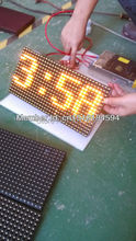 free shipping Wholesale price p10 semi-outdoor yellow color p10 LED display module 32*16 piexls for shop window LED text sign