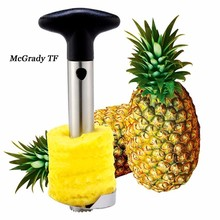 Useful Fruit Pineapple Peeler Corer Slicers Cutter Kitchen Tools Easy Pineapple Peeling Melon Knife Fruit Salad Home Accessories(China)