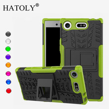 Buy HATOLY Case Sony Xperia XZ1 Compact Cover Silicone & Plastic Case Sony Xperia XZ1 Compact Case Sony XZ1 Compact Capa for $3.39 in AliExpress store
