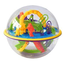 158 Steps Smart 3d Maze Ball Child Interaction Games Intelligence Toy Magical Intellect Balance Logic Ability Puzzle Ball(China)