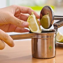 Stainless Steel Lemon Squeezer Lemon Manual Juicer Sturdy Lime Squeezer Anti-corrosive Manual Lime Fresh Juice Tools(China)
