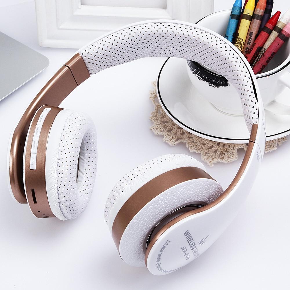 JKR - 212B Multicolorful Bluetooth FM Radio Headset Stereo Music Headphones<br><br>Aliexpress