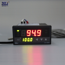 96x48mm PT100 0.0-400.0 degree Temperature controller .Relay output PID, ON/OFF CJF-8000 temperature panel meter(China)