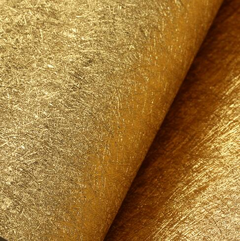 Modern luxury gold silver background wallpaper Luxury gold foil Damask wallpaper roll Living room bedroom TV wall wallpaper <br>