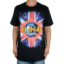 Free shipping  DEF LEPPARD Retro Rock Men's New 100% cotton  T-Shirt Size