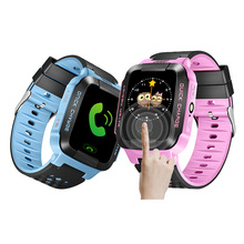 Global Positioning Kids GPS Smart Watch Smartphone Children Anti-lost Bluetooth Tracker Watches Sport Bracelet Support Russian(China)