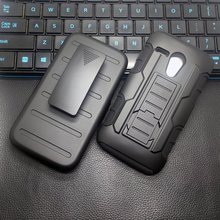 Cool Sport Armor Belt Clip Cover Case For Motorola Moto G2 G3 G4 Plus X Play X Froce Z Play Z Droid X Style X2 X3 XT1575 XT1032(China)