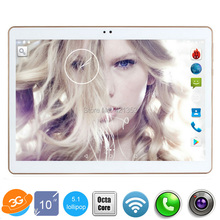 "10 inch Original 3G Phone Call unlocked Dual SIM card Android 5.1 Octa Core WiFi GPS FM Tablet pc 4GB+32GB tablet 10"" Free Ship"